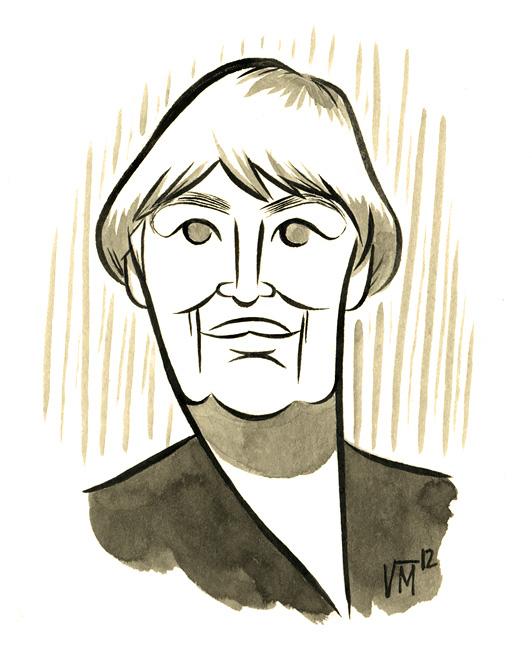 Portrait of Ursula K. Le Guin