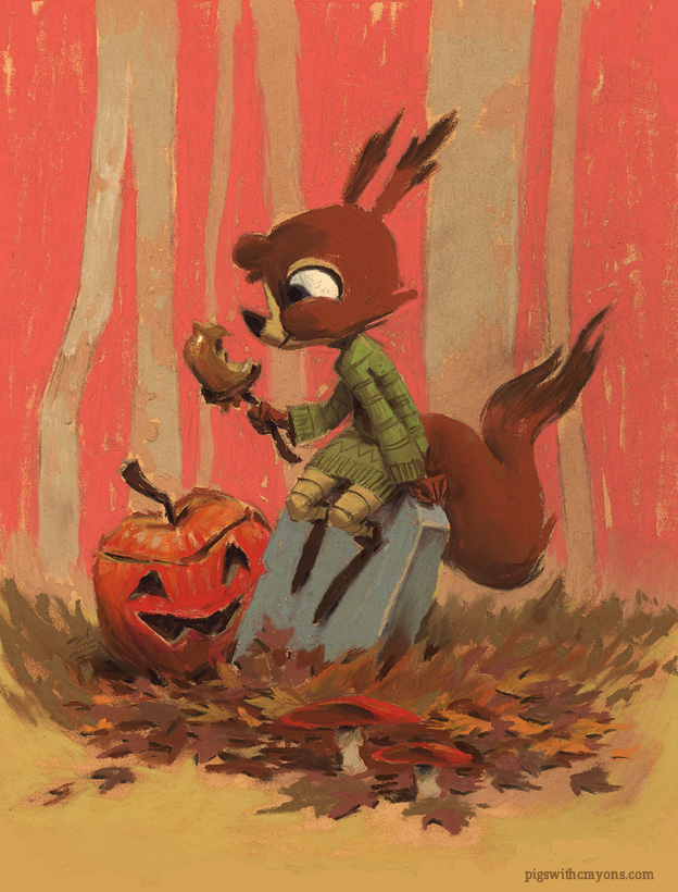 Ernestine's Halloween