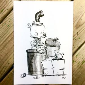 Bear Befriends a Rat